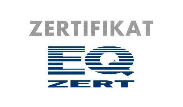 Zertifikat EQ-Zert