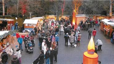 """""""Weihnachtszauber"""" im Kurpark lockte die Massen"""