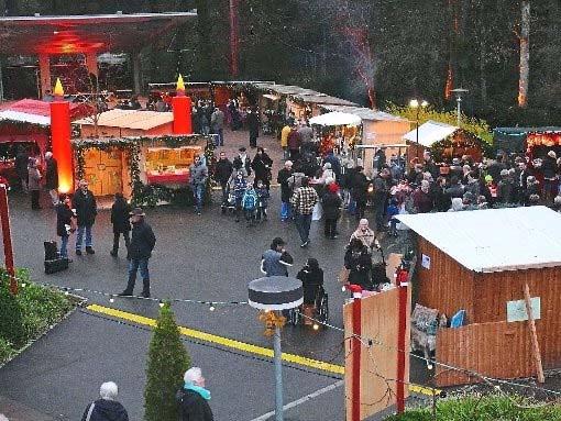 Weihnachtsmarkt zieht viele Besucher an